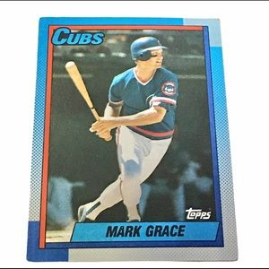 1990 TOPPS #240 MARK GRACE CHICAGO CUBS Card